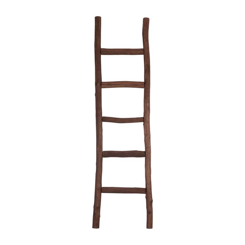 Decoratieve ladder - 170 cm - bruin