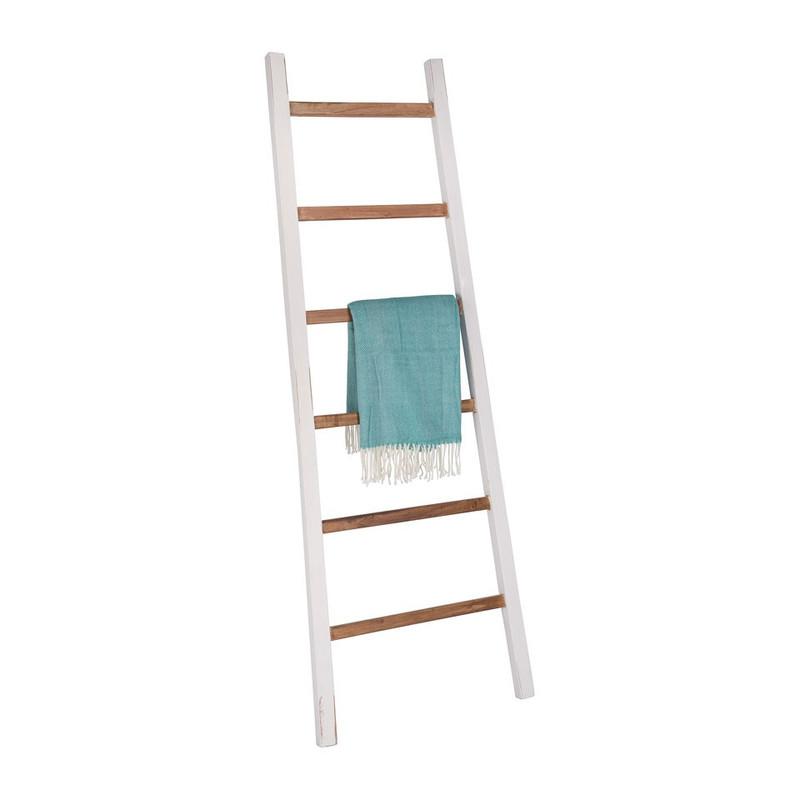 Decoratieve ladder - mindihout - 195 cm