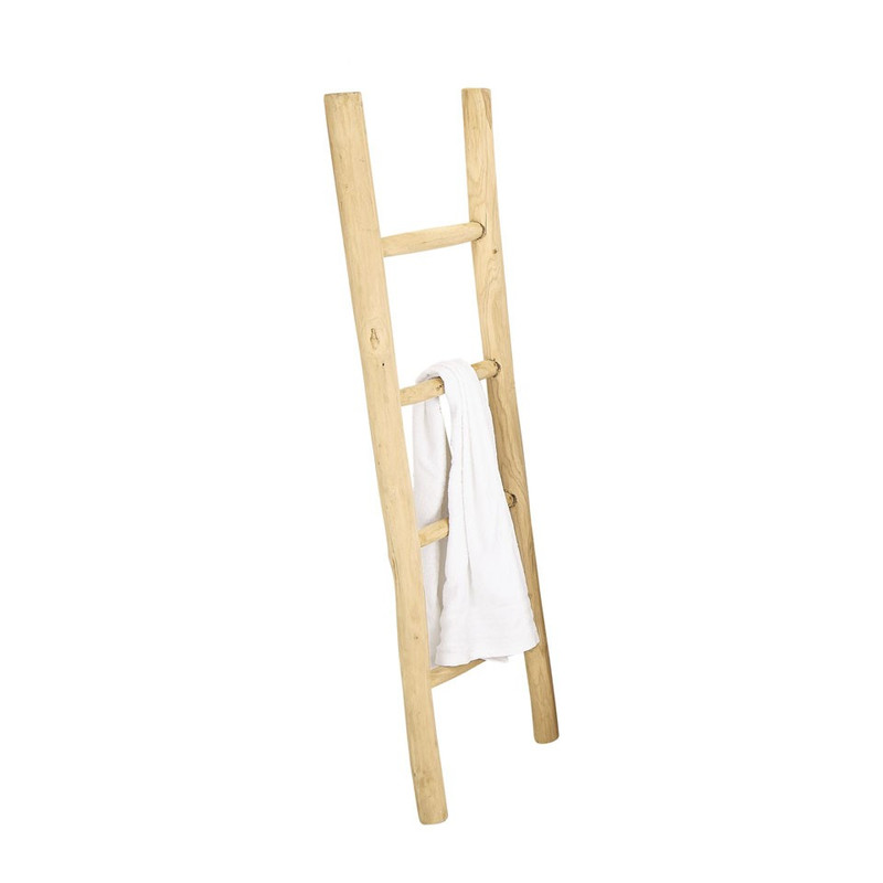 Decoratieve ladder teak - 150 cm
