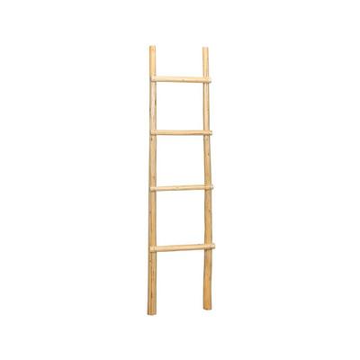 Houten Ladder Xenos.Decoratieve Ladder Naturel Xenos
