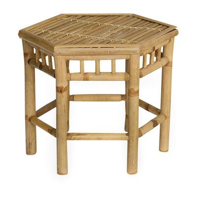 Tafeltje bamboe - 50x43x40 cm