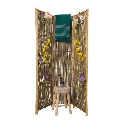 kamerscherm bamboe 180x136 cm