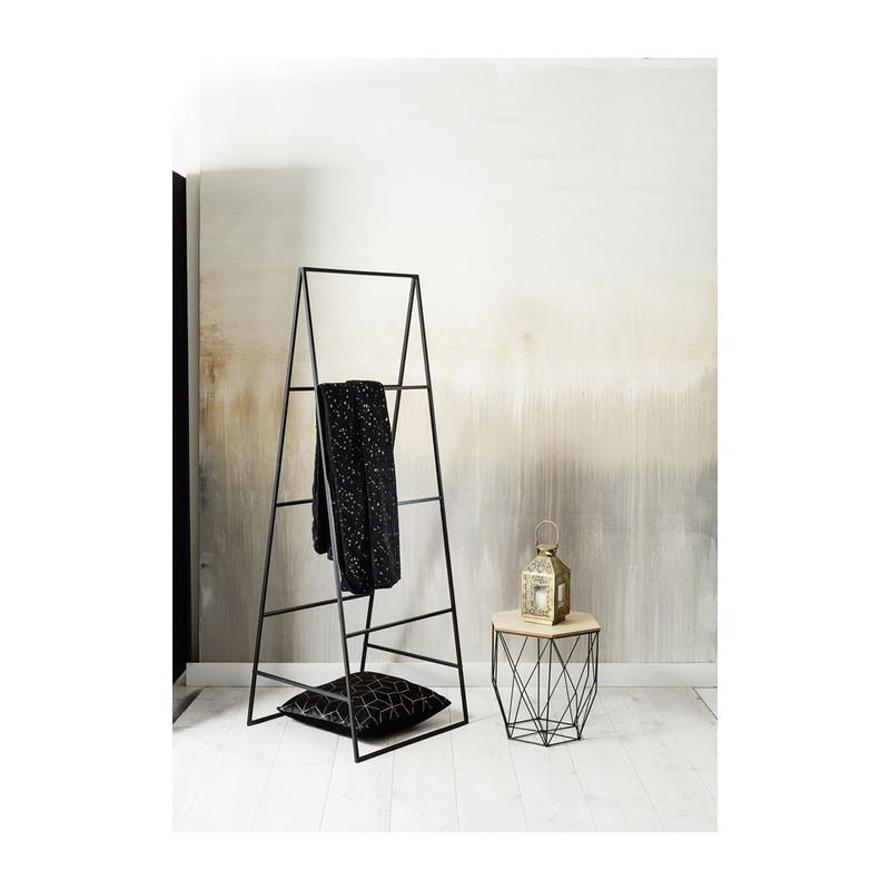 Metalen ladder - 159 cm - zwart