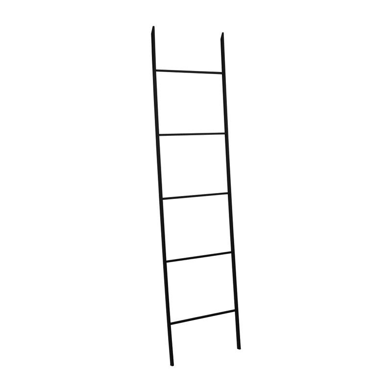 Decoratieve ladder metaal - 160x40cm