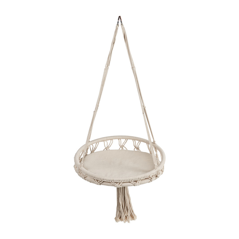 Dieren hangstoel knoet - ø50x15 cm