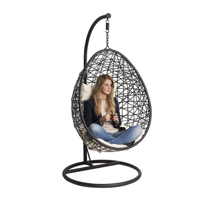 Hangstoel swing zwart for Hang stoel