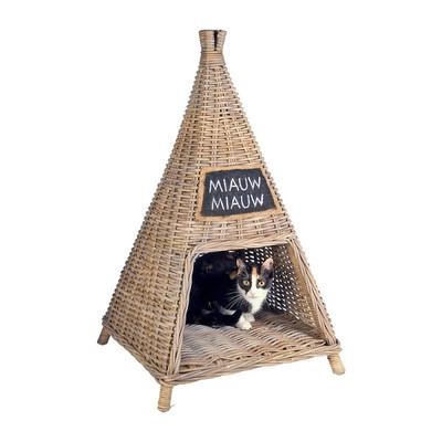 Kattenhuis piramide miauw
