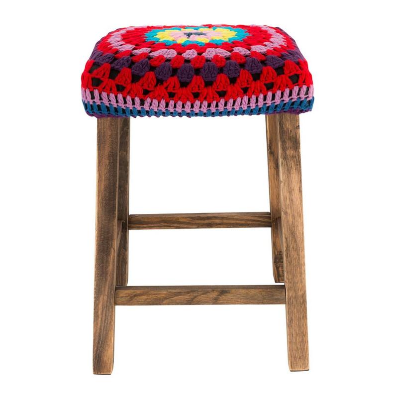 Krukje Pueblo - rood mix - 32x45 cm