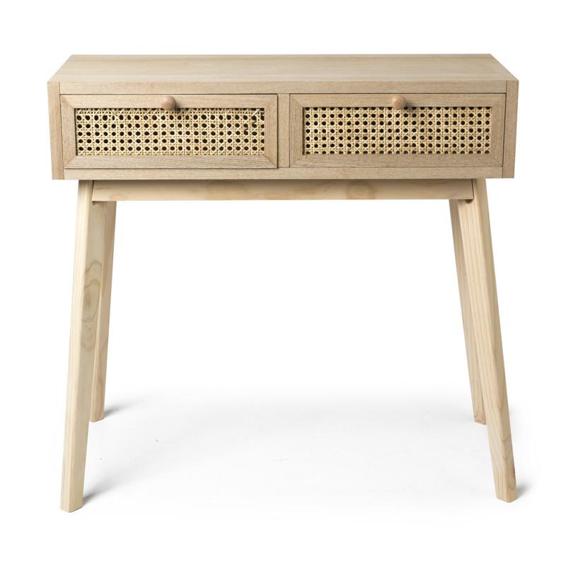 Webbing side table - 2 laden - 80x33x70 cm