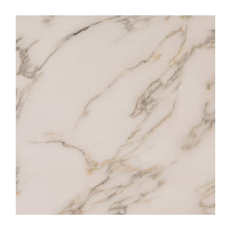 Tafeltje marmerlook - 40x40x34 cm
