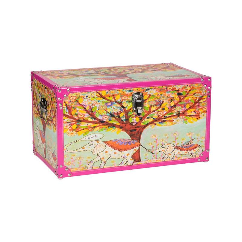 Kist Carpe Diem - 48x28x26 cm