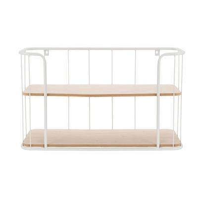 Wand-bakkerskastje - 20x60x35 cm - wit