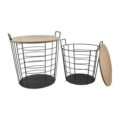 2 Glazen Bijzet Tafeltjes.Shop Bijzettafeltjes Snel Online Da S Leuk Van Xenos