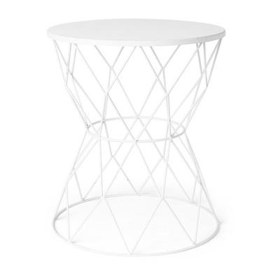 Tafeltje Diabolo - 35x40 cm - wit