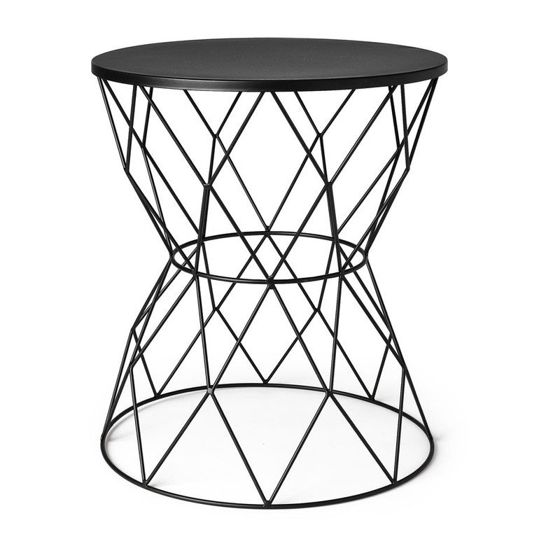 Tafeltje Diabolo - 35x40 cm - zwart