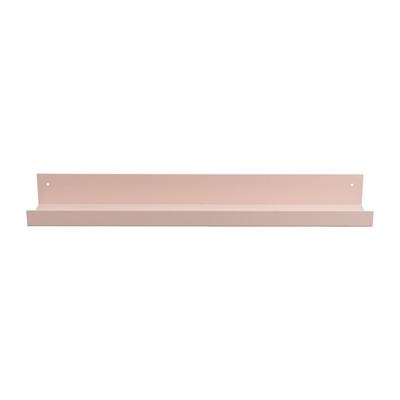 Wandplank metaal - 60 cm - roze