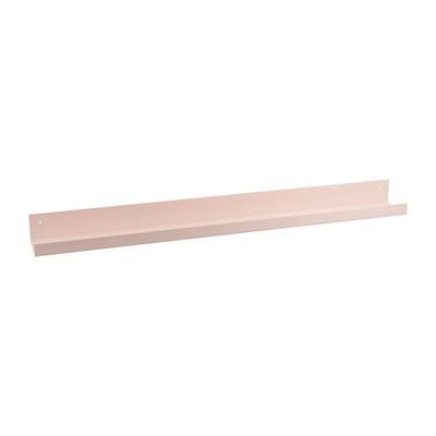 Wandplank metaal - 90 cm - roze