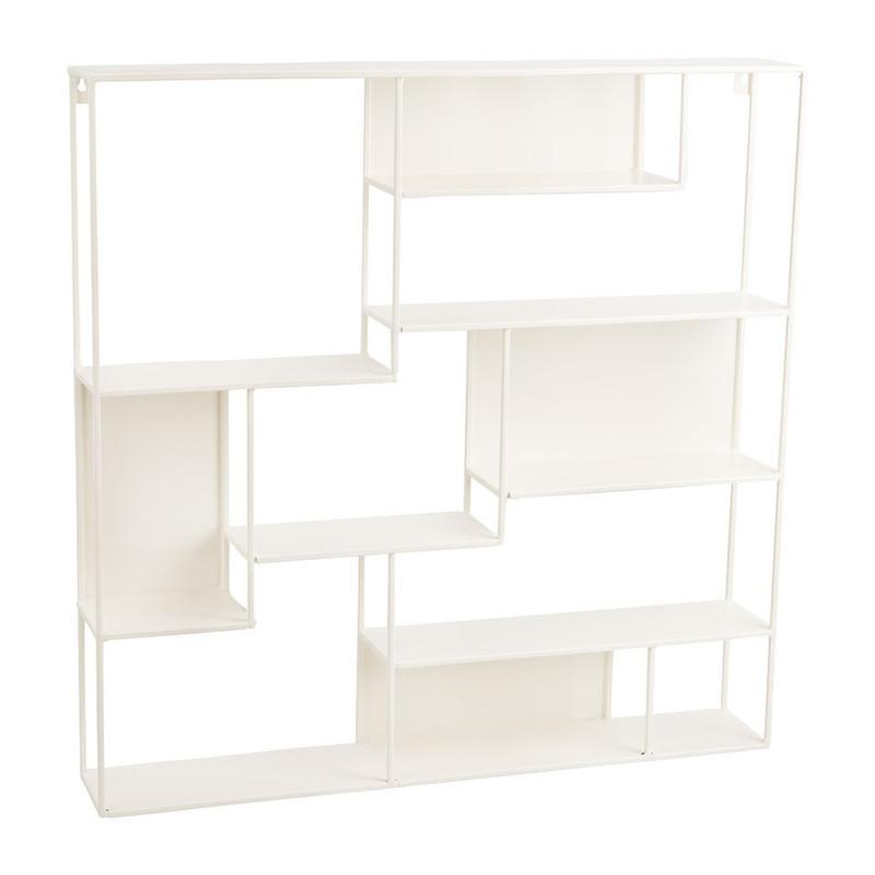 Wandrek multi vakken - 60x60 cm - wit