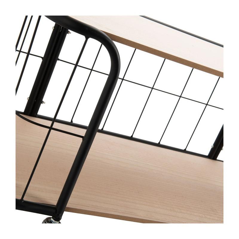 Salontafel Odense - 2 planken - 80x40x37 cm