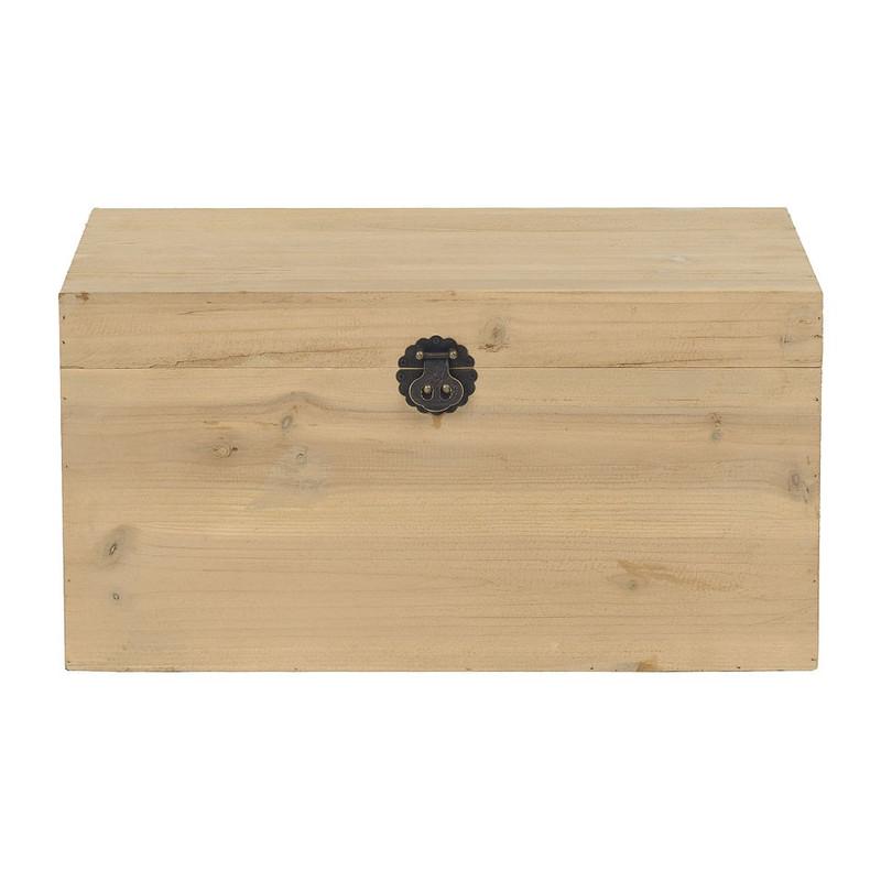 Kist hout - 33x55x29 cm