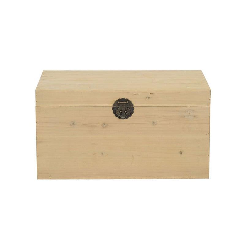 Kist hout - 39x61x33 cm