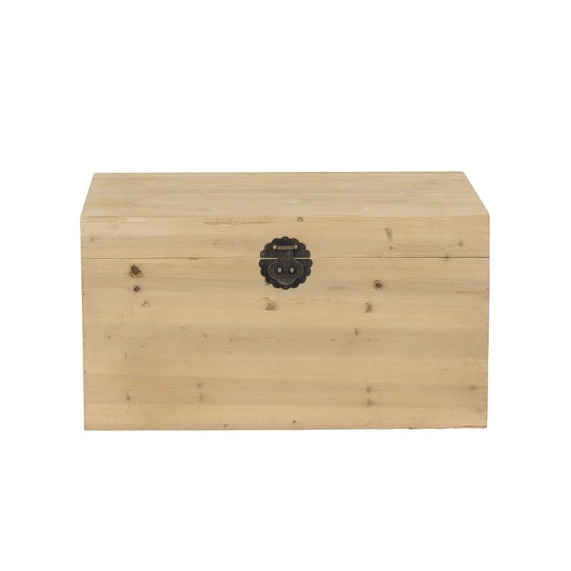 Kist hout - 51x76x41 cm