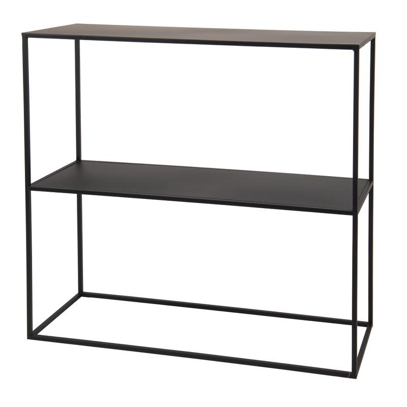Metalen Kast 2 Planken 75x28x75 Cm