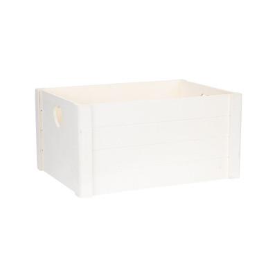 Opbergkistje met hartjes - 41x30x20 cm