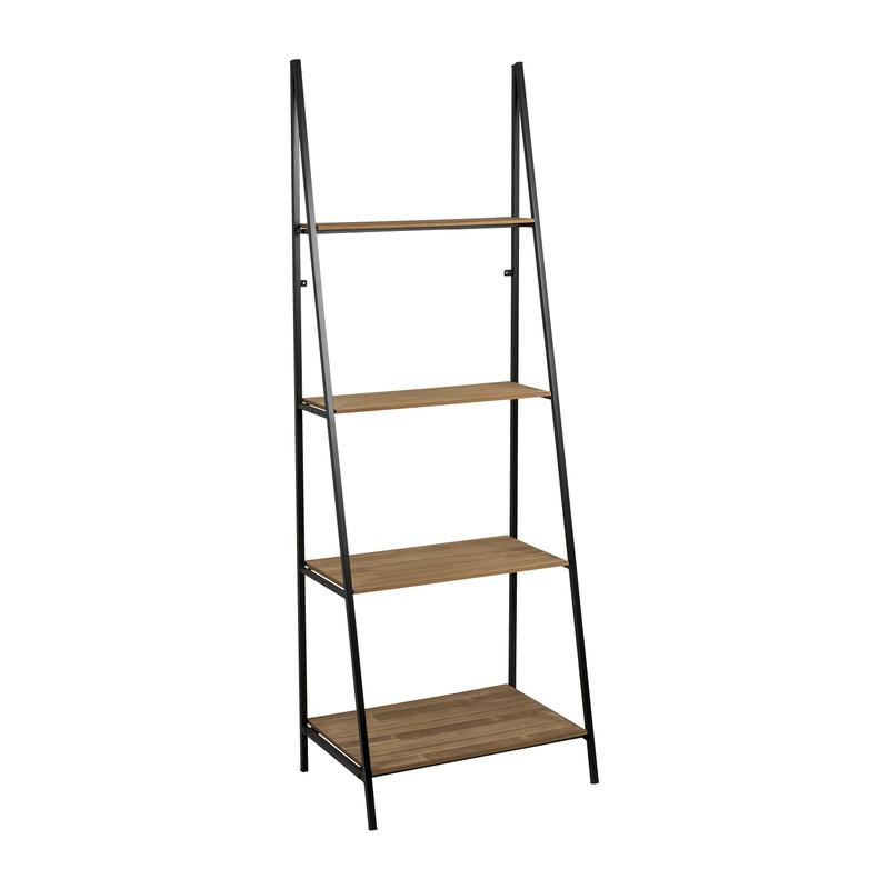 Ladder wandrek Otis met 4 planken - 60x42x170 cm