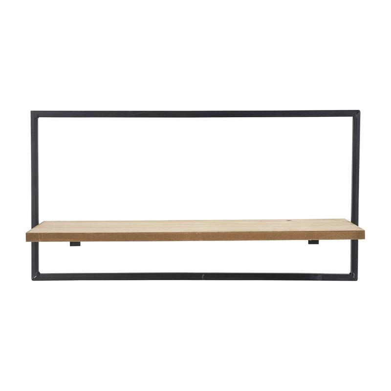 Wandrek met plankje - ø48x15x25 cm