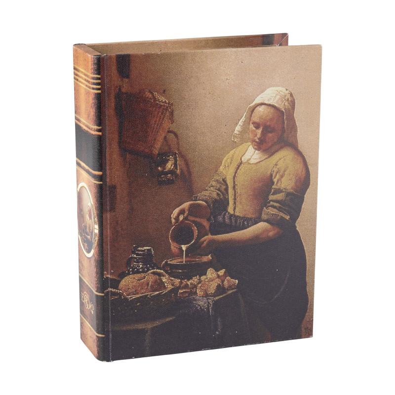 Opbergboek Melkmeisje - 18x6x24 cm