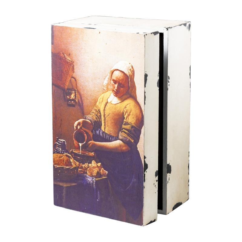 Kistje Melkmeisje - 23x14x10 cm