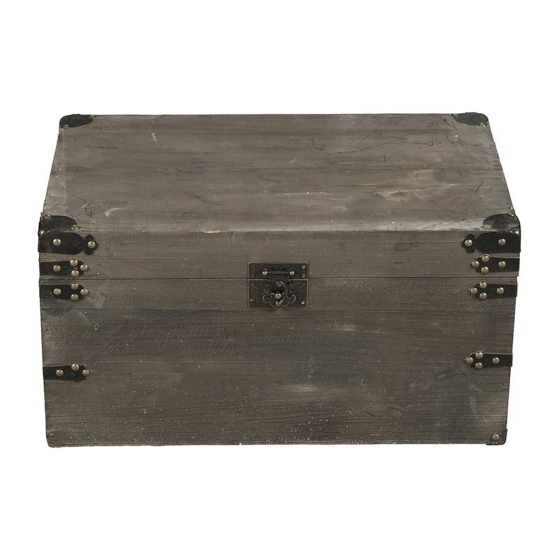 Sloophouten kist - 55x33.5x29 cm