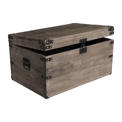 Sloophouten kist - 61.5x39x33 cm
