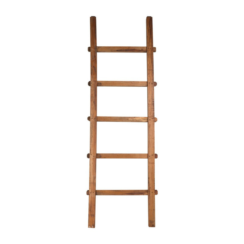 Decoratieve ladder recycle - 167 cm