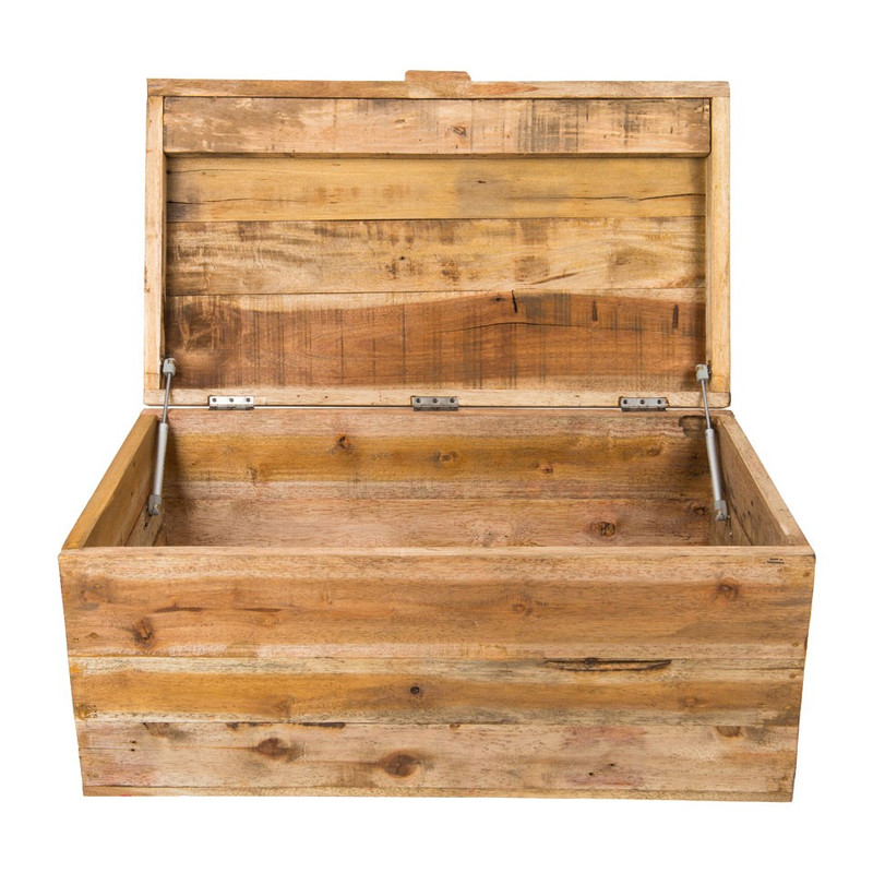 Recycle kist/salontafel - 50x40x90 cm