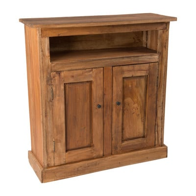 Recycle kast met 2 deuren - 85x32x90 cm