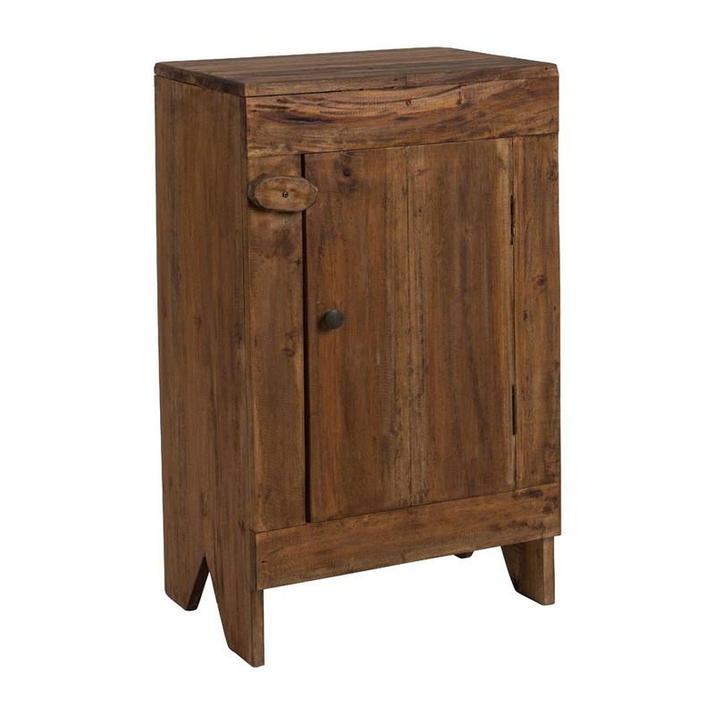 Recycle kastje met deurtje - 30x43x70 cm