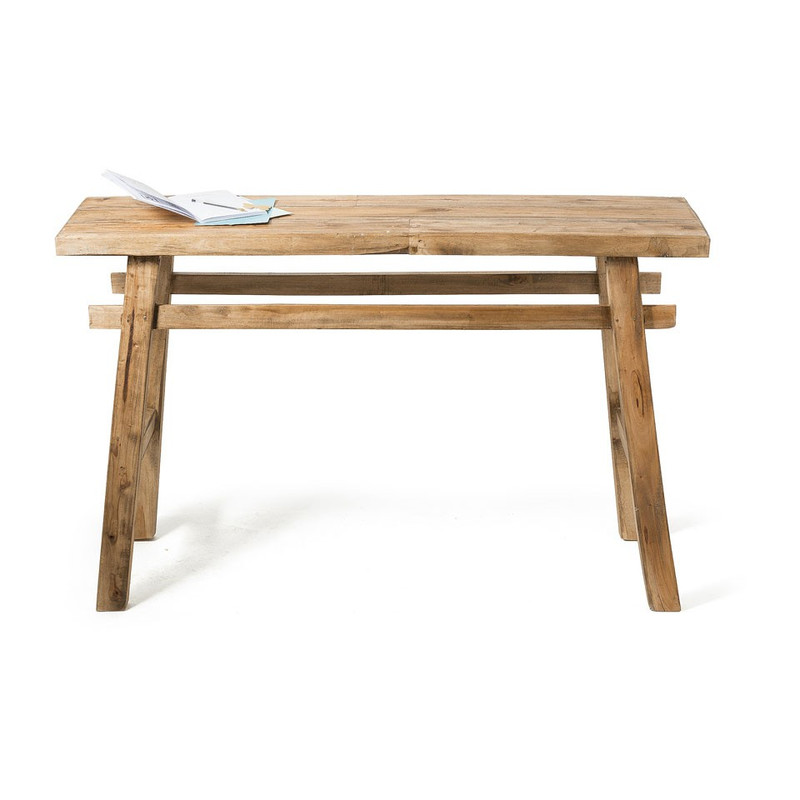 Sidetable Met Dienblad.Sidetable Recycle Kuta 130x40x80 Cm