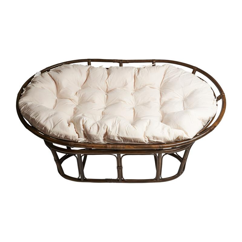 Rotan loungebank Mamasan - 175x113x84 cm
