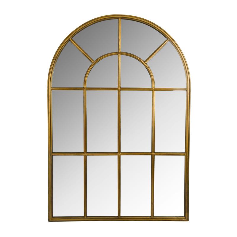 Dagaanbieding - Spiegel raam - 100x70 cm - goudkleurig dagelijkse koopjes