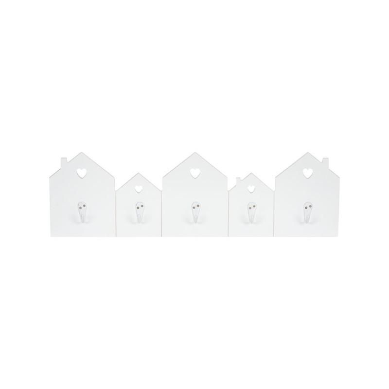Kapstokje huisjes