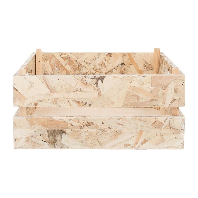 Kistje chipwood - 32x23 cm