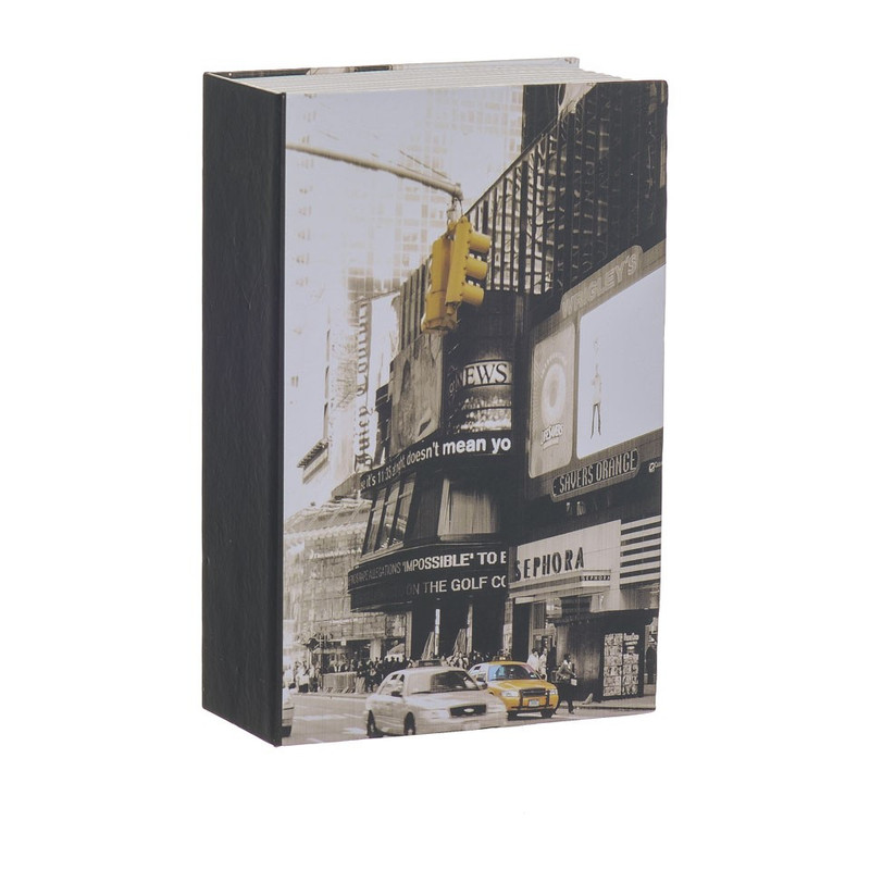 Opbergboek met kluis New York klein