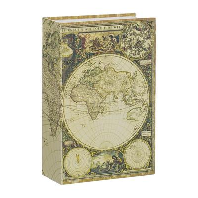 Opbergboek met kluis Atlas klein