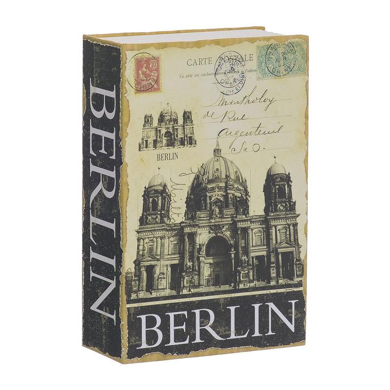Opbergboek met kluis Berlin klein