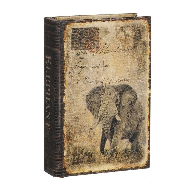 Opbergboek olifant klein