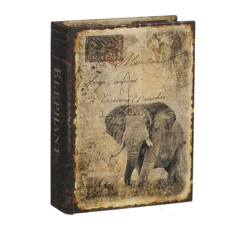 Opbergboek olifant middel