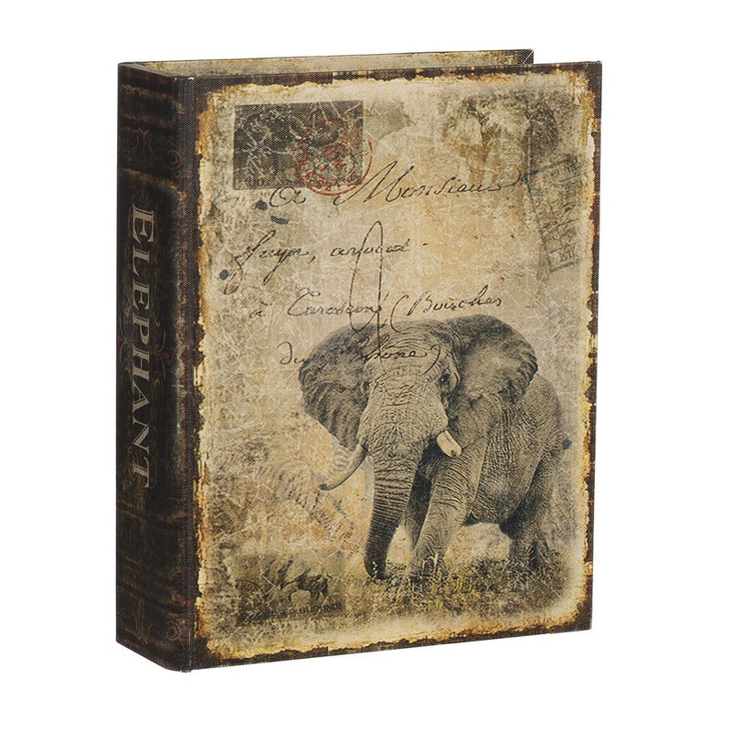 Opbergboek olifant groot