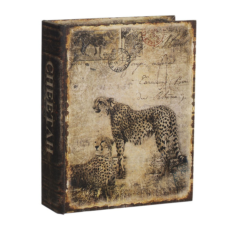 Opbergboek cheeta groot